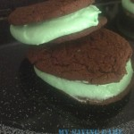 Homemade Mint Chocolate Whoopie Pie Recipe