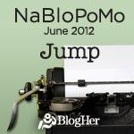 Taking a Leap of Faith #nablopomo
