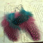 Easy to Make Feather Earrings Tutorial