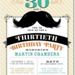 Tiny Prints Birthday Invitations for Adults