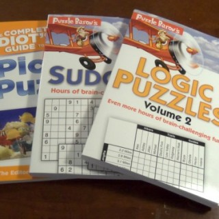 Puzzle Baron Puzzle Books Giveaway – US/Can