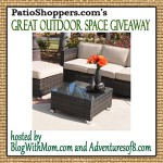 Resin Wicker Patio Furniture Giveaway