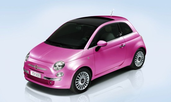 Fiat 500 Barbie Edition