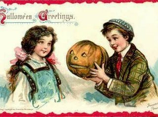 Vintage Halloween Images – Wordless Wednesday {w/Linky}