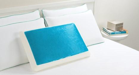 Hydraluxe Cooling Gel Memory Foam Pillow