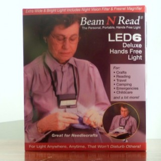 Beam N Read ® LED 6 Deluxe Hands Free Light Review