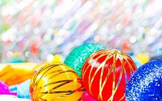 Bright Christmas Balls