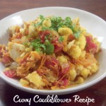 Curry Cauliflower Recipe #MWLDinnerParty