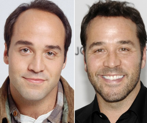 Jeremy Piven before and after hair