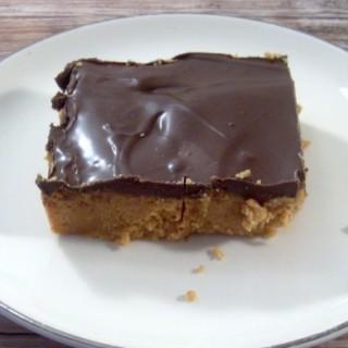 Easy No Bake Peanut Butter Chocolate Bars