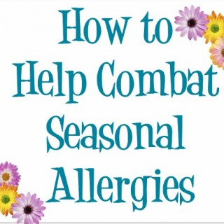 Ways to Combat Seasonal Allergies