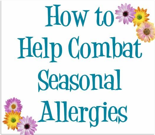 Ways to Combat Seasonal Allergies