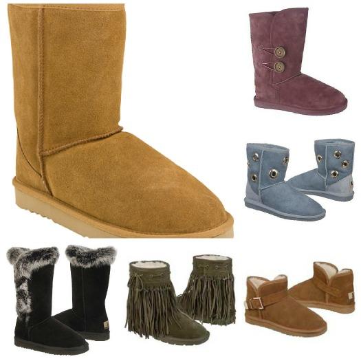 Lamo Sheepskin Boots