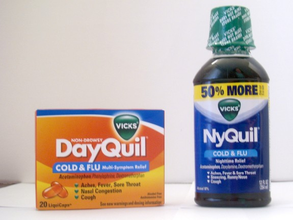 Nyquil and Dayquil
