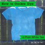 How to Ombre Dye a Shirt #summerofjoann