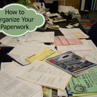 How to Organize Your Paperwork