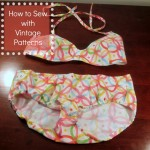 Tips for Sewing with Vintage Patterns #waverize