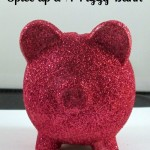 How to Glitter a Dollar Store Piggy Bank