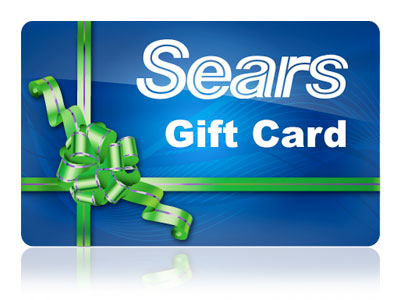 sears gift card $50 Sears or Kmart Gift Card Giveaway   Open WW