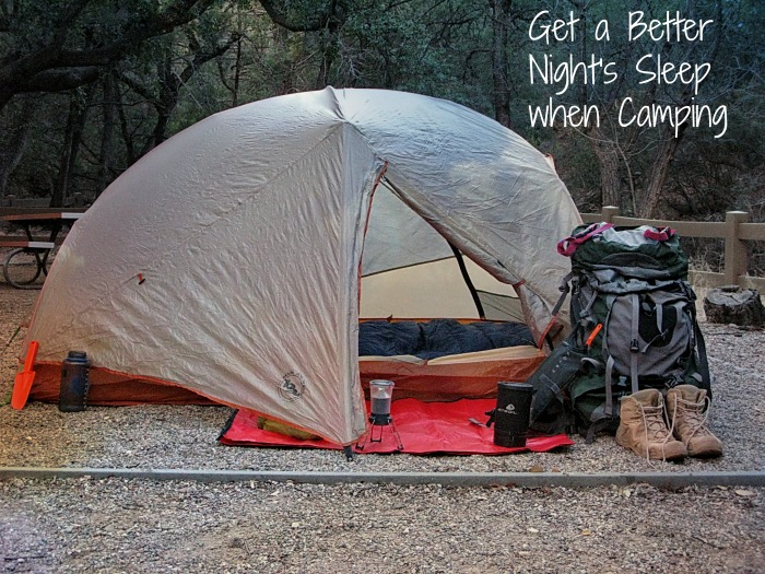 better nights sleep How to Sleep Better when Camping