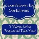 Countdown to Christmas | Be Ready