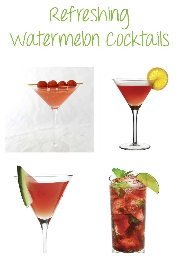 refreshing watermelon cocktails Refreshing Watermelon Cocktails
