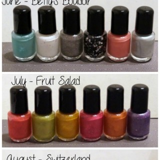 2 Month Smallish Polish Deluxe Subscription Nail Polish Giveaway