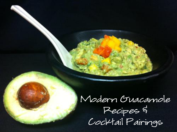 guacamole wm Modern Guacamole Recipe and Cocktail Pairings