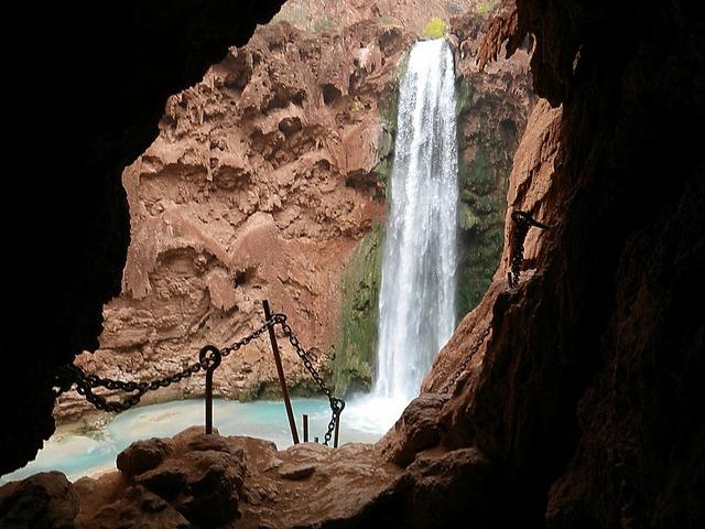 backpacking-waterfall