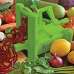 Brieftons Tri Blade Spiralizer for Spiral Cut Vegetables