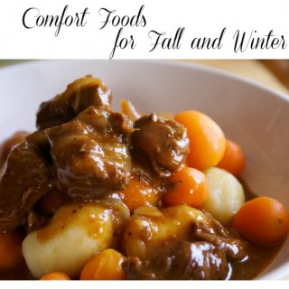 Favorite Comfort Foods for Fall and Winter