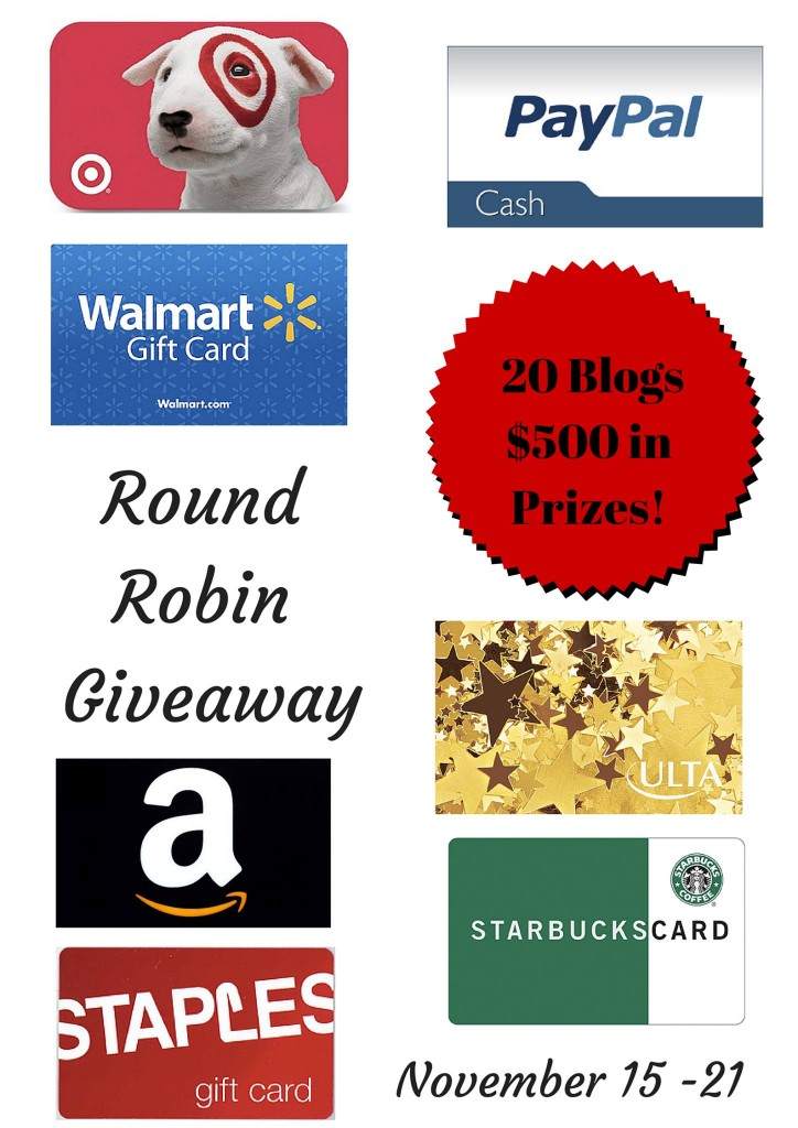 Round Robin 724x1024 CLOSED   $25 Target Gift Card Giveaway   CLOSED