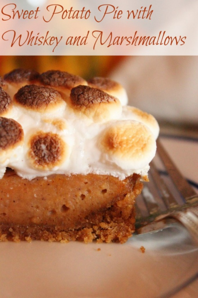 Sweet Potato Pie 682x1024 Sweet Potato Pie with Whiskey and Marshmallows