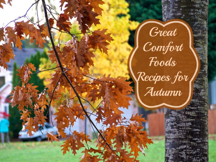 autumn comfort food recipes Three Fabulous Autumn Comfort Food Recipes