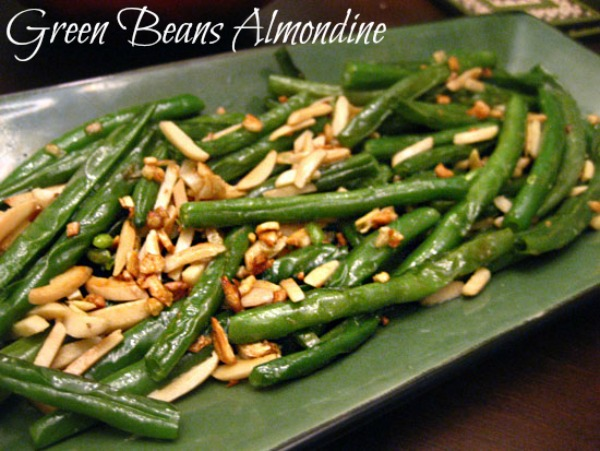 green beans almondine wm Green Beans Almondine