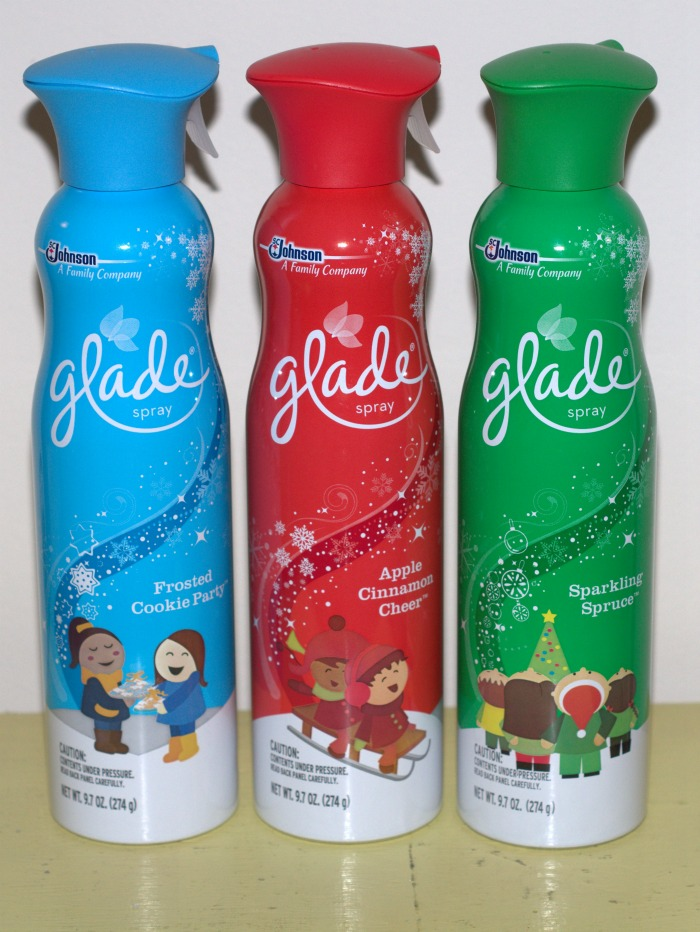 That s not all glade even has their holiday scents in the premium