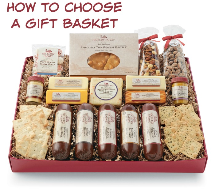 how to choose a gift basket How to Select a Gift Basket