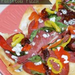 Rustic Tuscan Flatbread Pizza Recipe