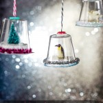 Snow Globe Christmas Ornaments Tutorial