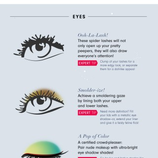 Holiday Beauty Tips for All Styles | An Infographic