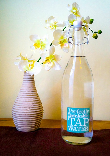 flowers-and-tap-water