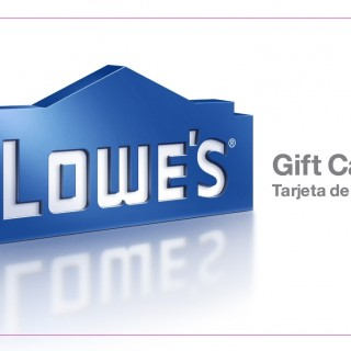 $25 Lowe's Gift Card Giveaway – Open WW