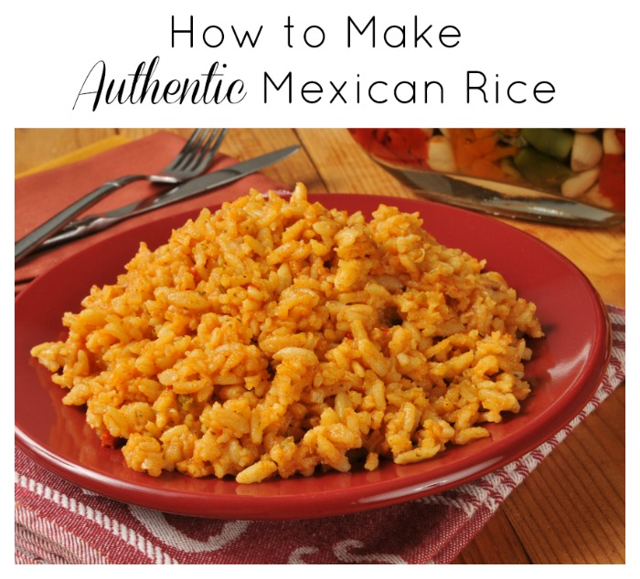 how to make spanish rice Rice is sauteed with onion and green bell pepper, and then simmered.
