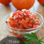Make this Delicious Garden Fresh Salsa Recipe