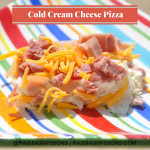 Cold Cream Cheese Pizza for Hot Summer Days