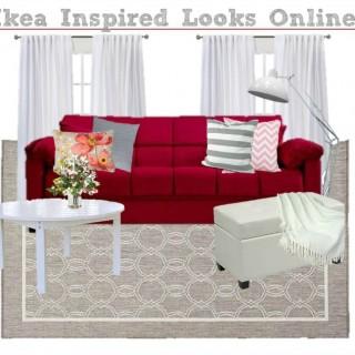 Ikea Inspired Living Room