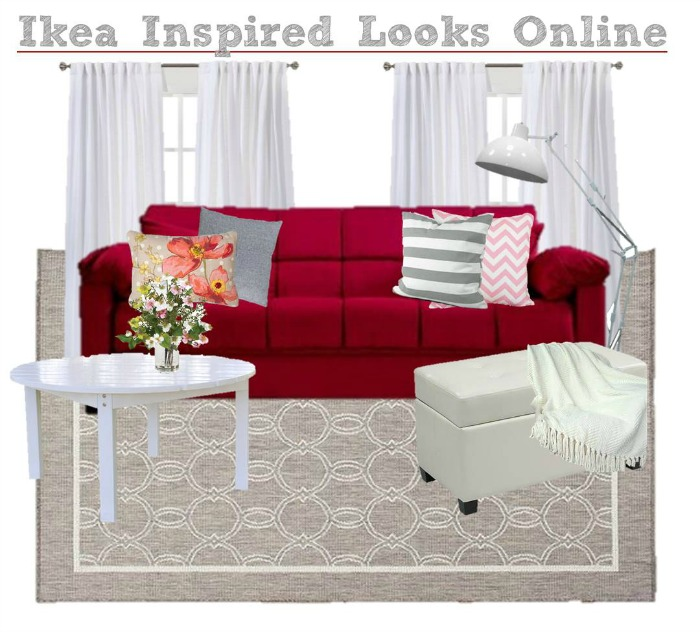 Ikea Inspired Living Room