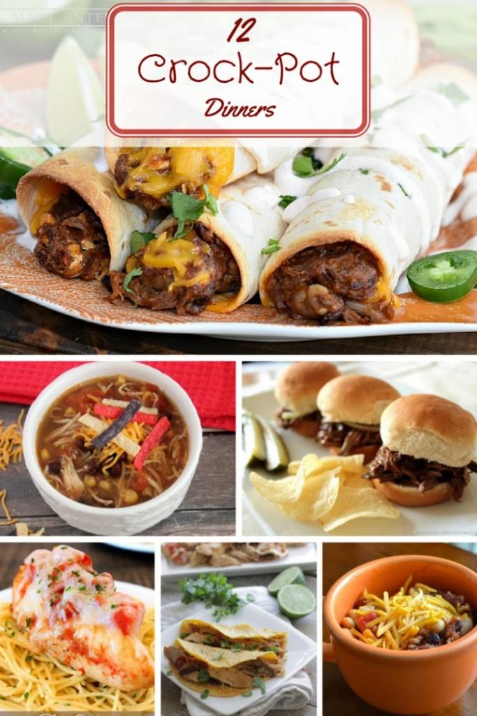 12 slow cooker dinner ideas