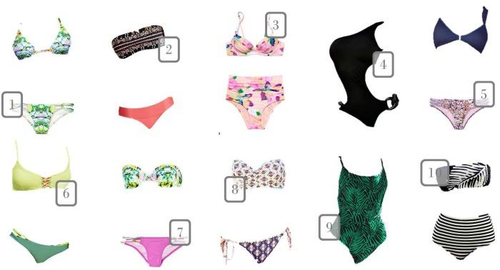 Victoria Secret swim Under 50 1-10