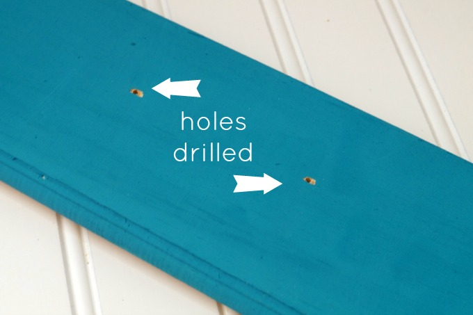 drilled holes wm